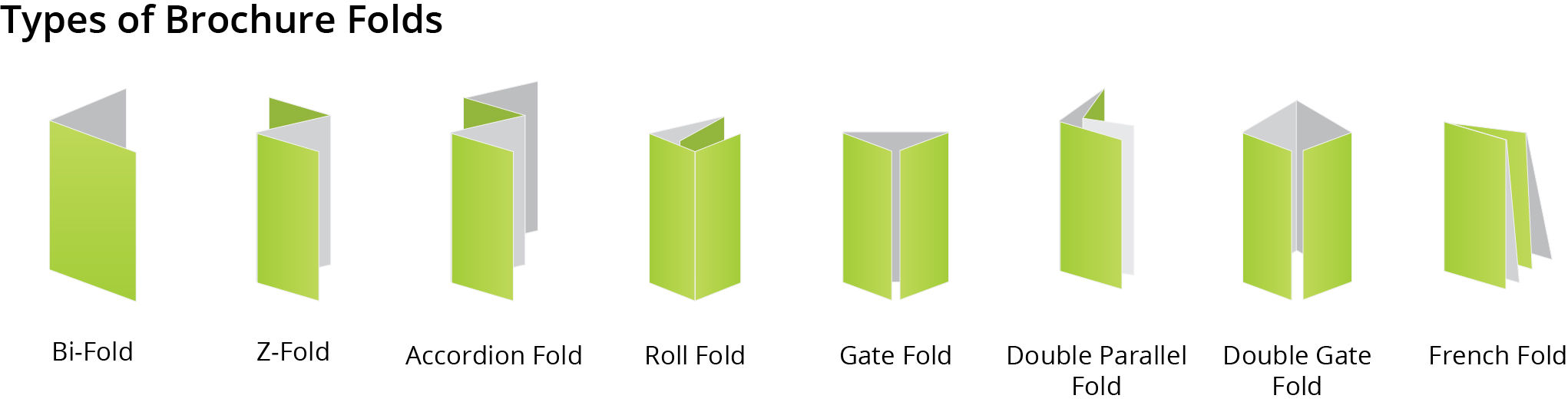 brochures fold